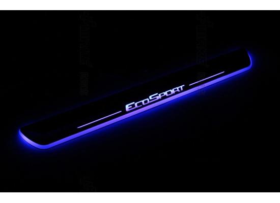 Накладки на пороги LED для Ford Ecosport