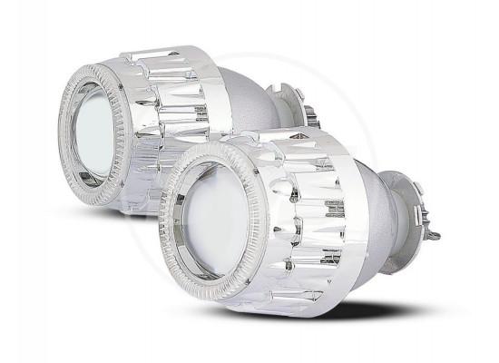 Комплект биксеноновых линз 2.5 дюйма БЕЗ ЛАМП (фото)