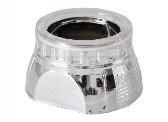 Маска для линз Mоrimoto H1 Тип E с CCFL Angle Eye 5000K (2 шт.) (фото)