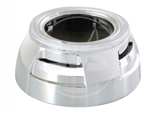 Маски для линз Mоrimoto Z108 (2 шт.) хром с CCFL (фото)