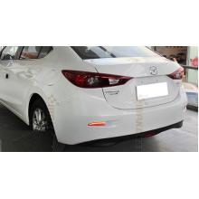 Задние габариты (ДХО) + доп. стоп сигналы + доп. поворотники Mazda 3 III седан 2013 - по н.в. Вариант 1 (фото)