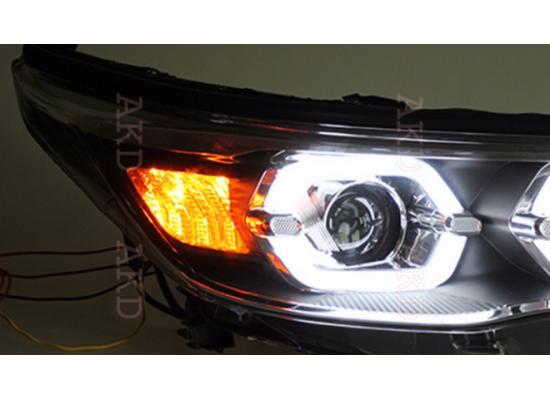 Фары для Toyota Highlander 3 2013-16. Вариант 3