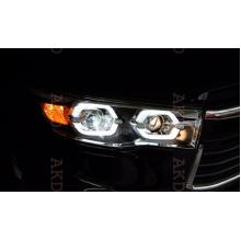 Фары для Toyota Highlander 3 2013-16. Вариант 3 (фото)