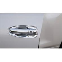 Накладки на ручки дверей для Toyota Land Cruiser Prado 2009- по н.в. Вариант 2 (фото)
