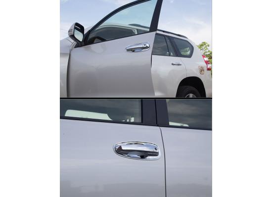 Накладки на ручки дверей для Toyota Land Cruiser Prado 2009- по н.в. Вариант 2
