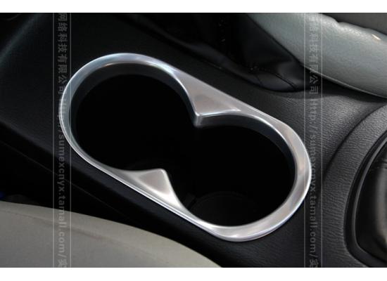 Накладка на подстаканники для Mazda CX 5 дорестаил 2011-15 (фото)