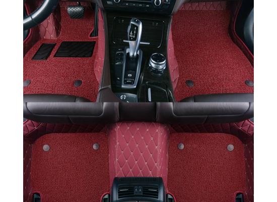 Кожаные коврики для Mazda CX5 1 2011-2017 (фото)