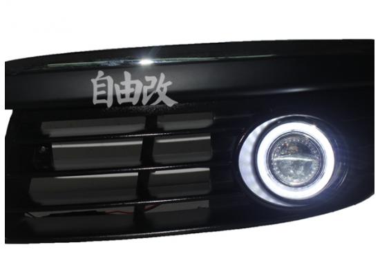 Противотуманные фары с ангельскими глазками для Volkswagen Jetta 5 (фото)