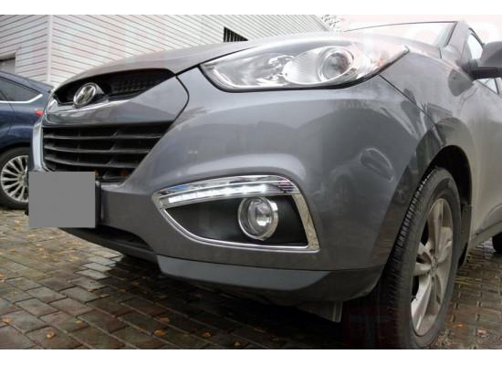 ДХО для Hyundai IX35 от YDC. Вариант 1 (фото)