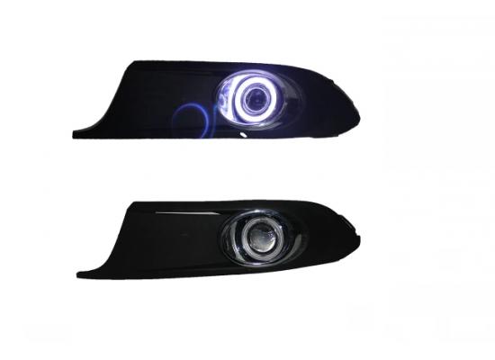 Противотуманные фары с ангельскими глазками для Volkswagen Jetta 6 2010-14