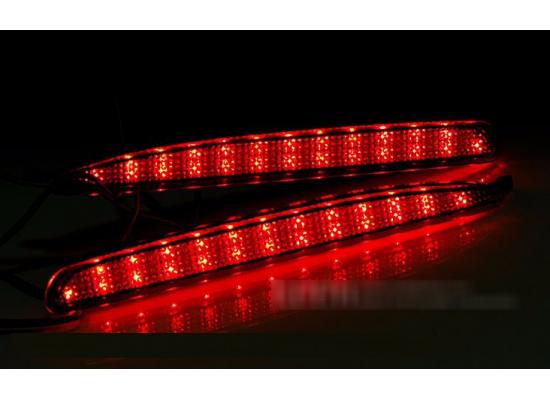 Задние габариты (ДХО) + доп. стоп сигналы + доп. поворотники Mazda 6 2002-07 (фото)