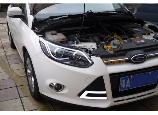 Фары для Ford Focus 3 2011-15 дорестайлинг. Вариант 12 (фото)