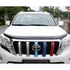Дефлектор капота для Toyota Land Cruiser Prado 150 Рестайлинг 1 и 2 2013-по н.в.