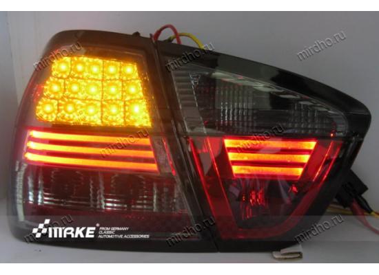 Задняя оптика для BMW 3 series  Е90 06-08 дорестаилинг Вариант 1 (фото)