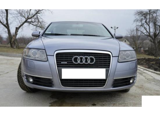 Противотуманные фары с ангельскими глазками для Audi A6 05-08 г (фото)
