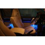 Подсветка салона со штатной кнопкой для Toyota Land Cruiser Prado 150 2009-по н.в.