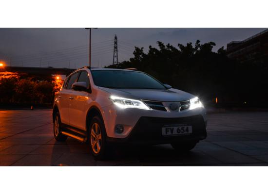 Фары для Toyota RAV4 2013-2015 Вариант 3 (фото)