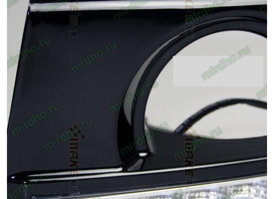 ДХО для Hyundai Tucson 2004-10 (фото)