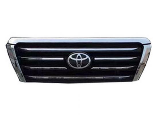 Тюнинг решетка радиатора для Toyota Land Cruiser Prado Рестайлинг 1 2013-17 (фото)