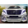 Тюнинг решетка радиатора для Toyota Land Cruiser Prado Рестайлинг 1 2013-17
