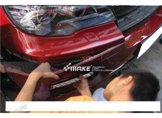 ДХО для BMW X6 E71 2007-12. Вариант 1