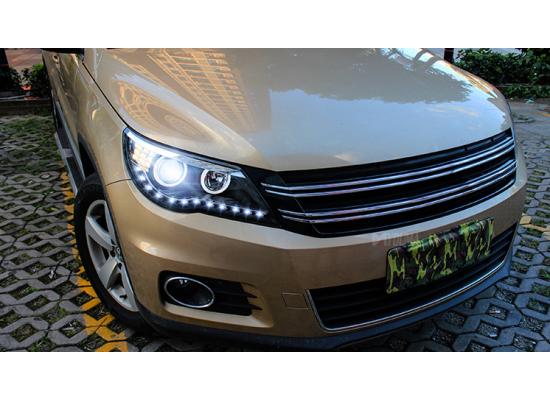 Фары для Volkswagen Tiguan 1 2007-11 Вариант 1 (фото)