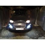 ДХО для Chevrolet Captiva 2014-2016 г.в. Вариант 3