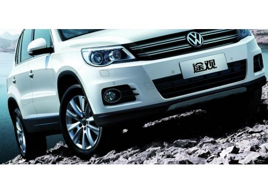 Фары для Volkswagen Tiguan 1 2007-11 Вариант 4 (фото)