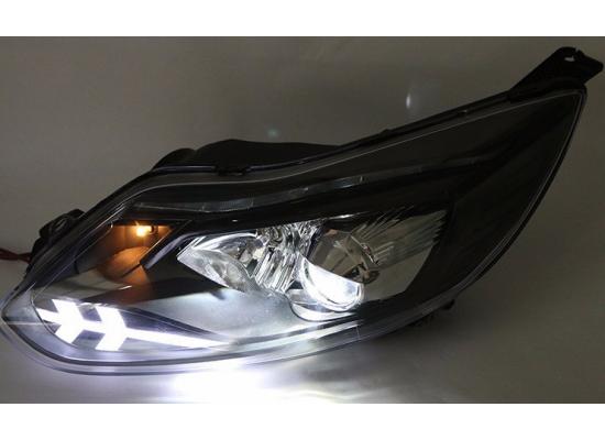 Фары для Ford Focus 3 2011-15 дорестайлинг. Вариант 9 (фото)