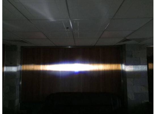 Светодиодные противотуманные фары с ДХО орлиный глаз (фото)