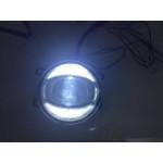 Светодиодные противотуманные фары с ДХО орлиный глаз