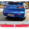 Задние габариты (ДХО) + доп стоп сигнал+ доп поворотники для Mitsubishi Lancer Х