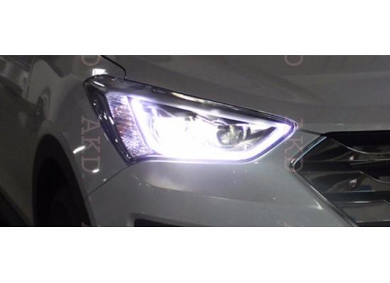 Фары для Hyundai Santa Fe 3 2012-16. Вариант 1 (фото)