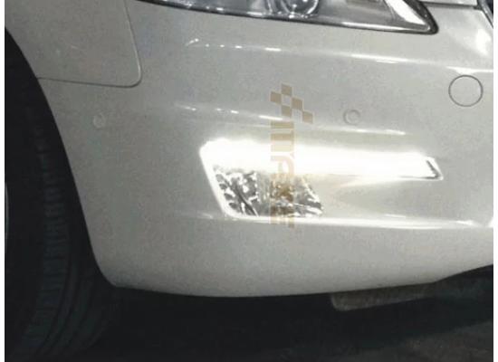 ПТФ с ДХО для Peugeot 508 Вариант 1 (фото)