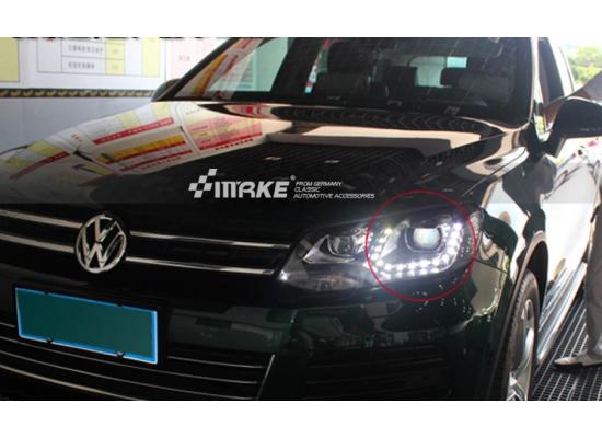 Фары для Volkswagen Tiguan 1 2007-11 Вариант 7 (фото)