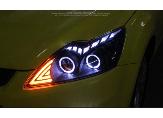Фары для Ford Focus 2 Рестайлинг 2008-11. Вариант 2