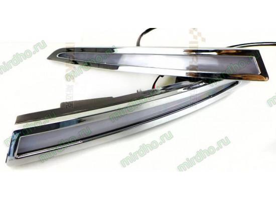 ДХО для Ford Kuga 2 c поворотниками и без (фото)