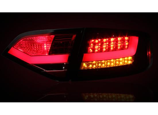 Задние фонари на Audi A4 В8 08-11 г. (фото)