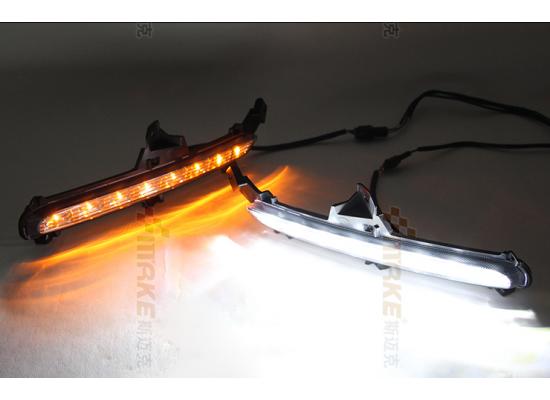 ДХО для Kia Rio 3 рестаилинг 2015-17. Вариант 1 под оригинал (фото)