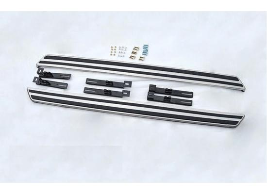 Пороги для Mazda CX 5 2011-17. Вариант 2 (фото)