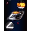 Светодиодные фары для Nissan Patrol 6 2010-13 (Y62) под Рестайлинг (фото)
