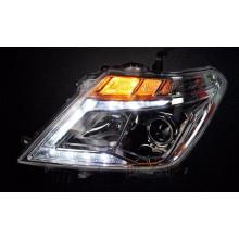 Светодиодные фары для Nissan Patrol 6 2010-13 (Y62) под Рестайлинг