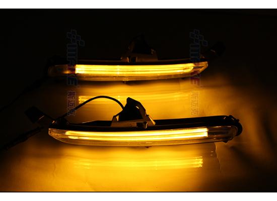 ДХО для Kia Rio 3 рестаилинг 2015-17. Вариант 2 (фото)