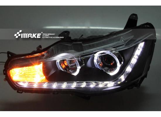 Фары для Mitsubishi Lancer X Вариант 1