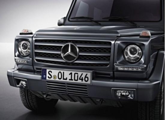 ДХО для Mercedes-Benz G-klasse W463 (фото)