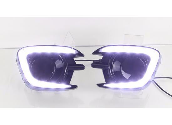 ДХО для Mitsubishi Pajero Sport 2014-2016 и L200 IV Рестаилинг (фото)