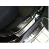 Накладки на пороги для Chevrolet Captiva 2006-2016 (фото)