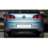 Доп. габариты (ДХО) + стоп сигналы + поворотники в задний бампер для Volkswagen Golf 6 2009-12 (фото)