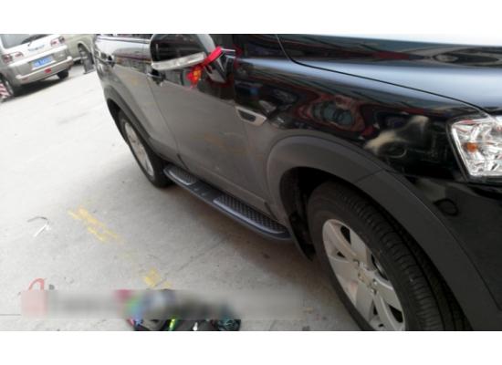 Пороги подножки для Chevrolet Captiva I 2006-2016 (фото)