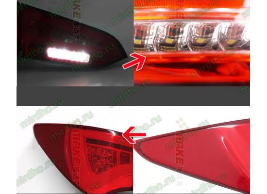 Задние фонари для Hyundai Santa Fe 3 2012-по н.в. Вариант 1 (фото)